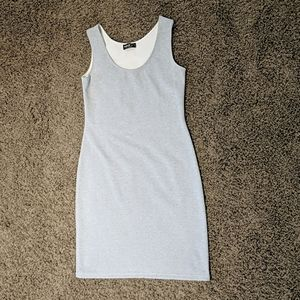 Light grey tank dress